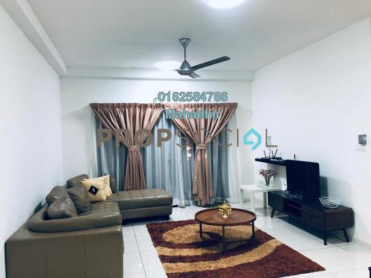 For Rent Condominium at Emira, Shah Alam Freehold Fully Furnished 3R/2B 3k