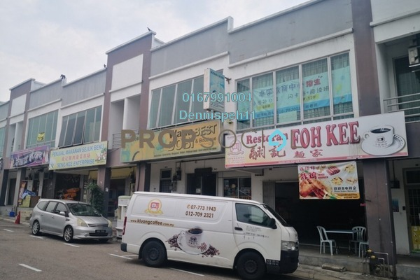 For Rent Shop at Taman Bestari Indah, Ulu Tiram Freehold Unfurnished 0R/2B 750translationmissing:en.pricing.unit