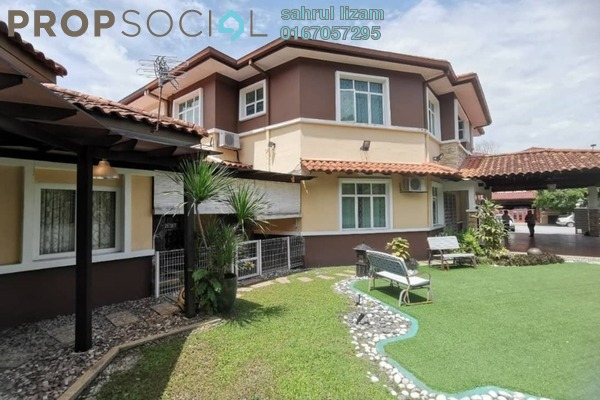 For Sale Semi-Detached at Tropika Kemensah, Kemensah Freehold Fully Furnished 6R/6B 3.3m