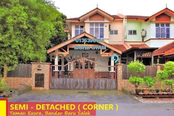 Semi-Detached For Sale in Taman Ixora, Bandar Baru Salak Tinggi Freehold Semi Furnished 5R/4B 630k