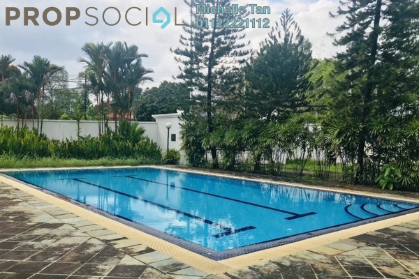 Bungalow For Rent in Taman U-Thant, Ampang Hilir Freehold Semi Furnished 4R/4B 20k