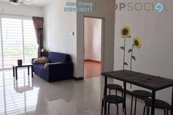 For Rent Condominium at Panorama Residences, Sentul Freehold Semi Furnished 3R/2B 1.3k