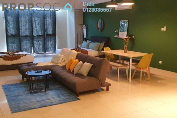 For Rent Condominium at Vivo Residential @ 9 Seputeh, Old Klang Road Freehold Fully Furnished 1R/1B 1.6k