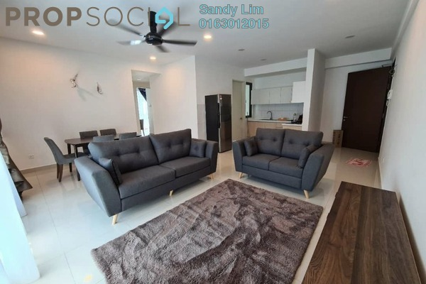 For Rent Condominium at Lake Point Residence, Cyberjaya Freehold Fully Furnished 3R/2B 2.3k