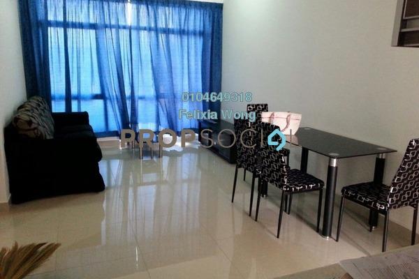 For Sale Condominium at Amaya Maluri, Cheras Freehold Semi Furnished 2R/2B 498k