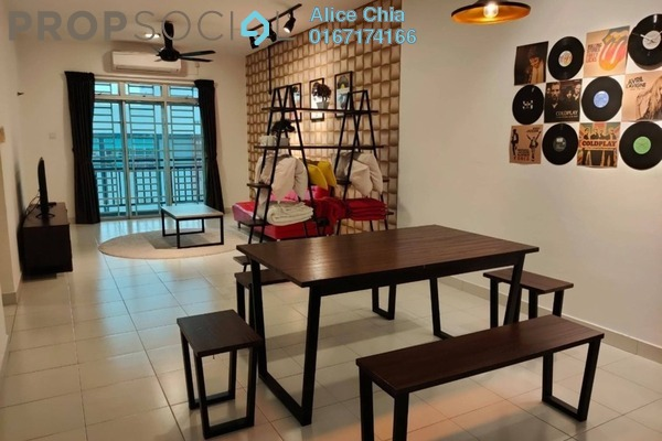 Serviced Residence For Rent in Tebrau City Residences, Tebrau Freehold Fully Furnished 3R/2B 1.4k