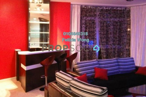 For Sale Condominium at Idaman Residence, KLCC Freehold Fully Furnished 3R/3B 1.4m