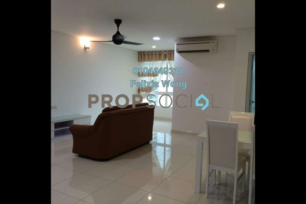 For Sale Condominium at V Residence @ Sunway Velocity, Cheras Freehold Fully Furnished 1R/1B 1.1m