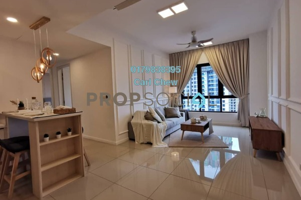 For Rent Condominium at Novum, Bangsar South Freehold Fully Furnished 2R/2B 3k