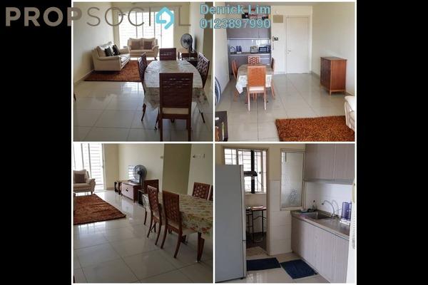 For Rent Condominium at Endah Promenade, Sri Petaling Freehold Fully Furnished 3R/2B 1.6k