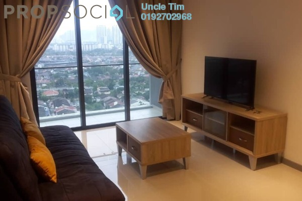 For Rent Serviced Residence at United Point Residence, Segambut Freehold Fully Furnished 3R/2B 1.9k