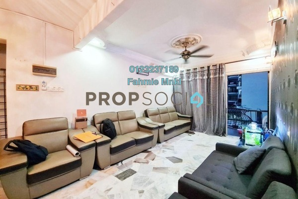 Apartment For Sale in Desa 288, Ampang Leasehold Semi Furnished 3R/2B 390k