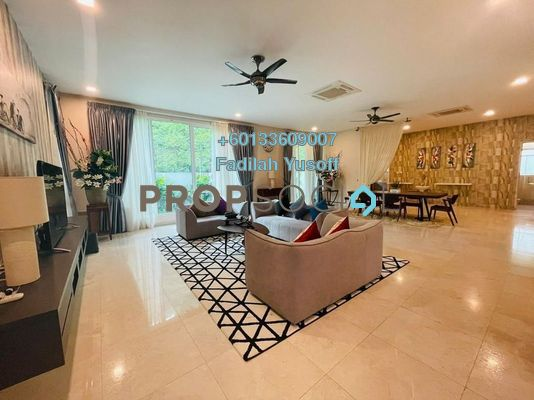 Bungalow For Rent in Aspen Bungalows @ Garden Residence, Cyberjaya Freehold Fully Furnished 9R/8B 12k