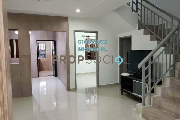 Terrace For Rent in Taman Ehsan Jaya, Johor Bahru Freehold Semi Furnished 4R/2B 1.4k