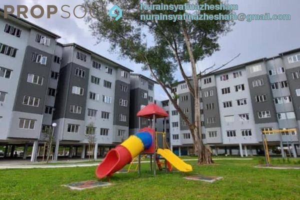 For Sale Apartment at Pusat Bandar Rawang, Rawang Freehold Unfurnished 3R/2B 270k