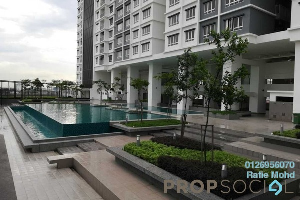 For Sale Condominium at The Edge Residen, Subang Jaya Freehold Fully Furnished 2R/2B 520k