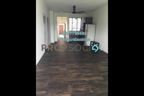 For Sale Apartment at Indahria Apartment, Shah Alam Freehold Unfurnished 3R/2B 300k
