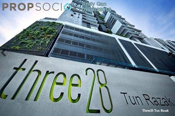 For Rent Serviced Residence at Three28 Tun Razak, KLCC Freehold Fully Furnished 2R/2B 3.7k