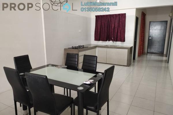 For Rent Condominium at Hijauan Heights, Kajang Freehold Semi Furnished 3R/2B 1.2k