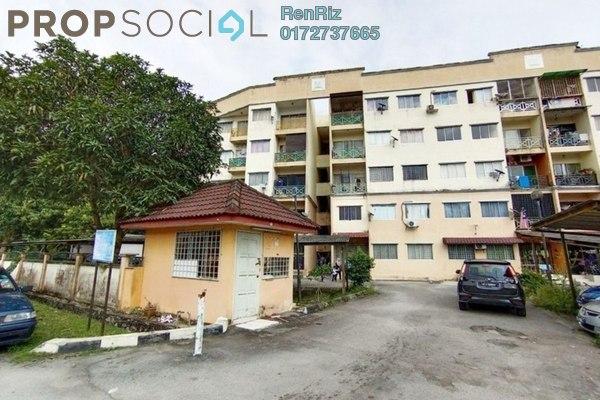 For Sale Apartment at Taman Seri Mewah, Kajang Freehold Semi Furnished 3R/2B 200k