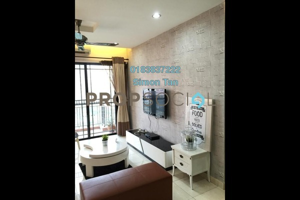 For Rent Condominium at Casa Indah 1, Tropicana Freehold Fully Furnished 3R/2B 2.4k