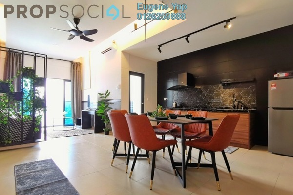 For Rent Condominium at Reizz Residence, Jalan Ampang Freehold Semi Furnished 3R/2B 2.5k