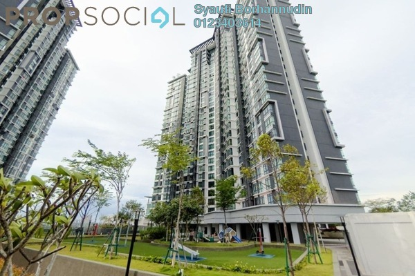 For Sale Condominium at Kenwingston Square Garden, Cyberjaya Freehold Semi Furnished 1R/1B 340k