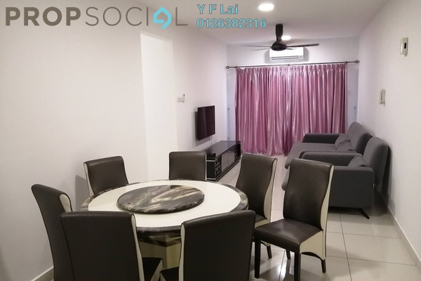 For Rent Condominium at Spring Avenue, Kuchai Lama Freehold Fully Furnished 3R/2B 2k