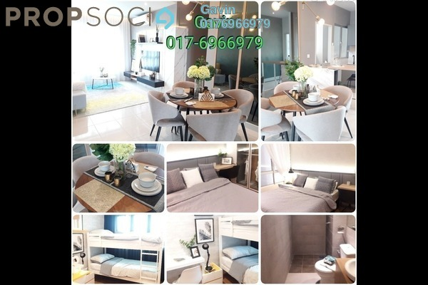 Serviced Residence For Sale in Kompleks Diamond, Bangi Leasehold semi_furnished 4R/2B 373k