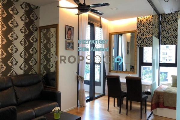 For Rent Condominium at Arcoris, Mont Kiara Freehold Fully Furnished 2R/2B 4.2k