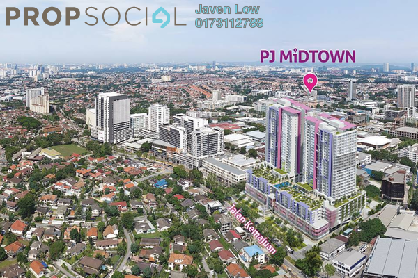 For Sale Condominium at PJ Midtown, Petaling Jaya Freehold Fully Furnished 1R/1B 550k