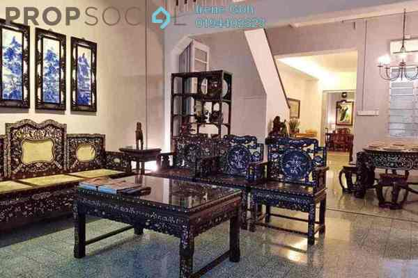 For Rent Terrace at Jalan Lim Eow Thoon, Georgetown Freehold Fully Furnished 3R/2B 4.8k