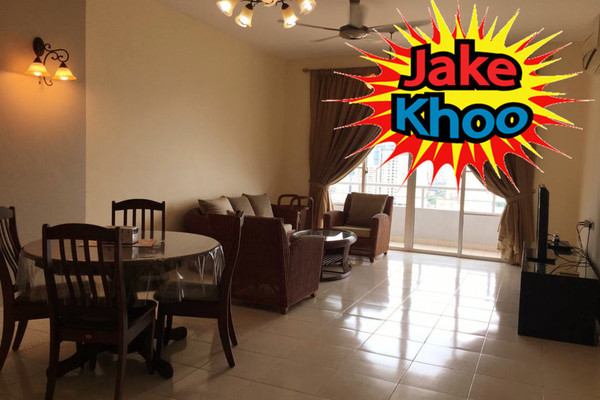 For Rent Condominium at BaysWater, Gelugor Freehold Fully Furnished 3R/2B 2.7k