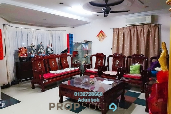 For Sale Terrace at Taman Ehsan, Kepong Freehold Semi Furnished 4R/3B 880k