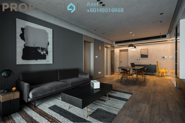 For Sale Condominium at Seri Cempaka, Cheras Freehold Fully Furnished 3R/3B 490k