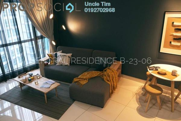 For Rent Serviced Residence at The Court, Sungai Besi Freehold Fully Furnished 2R/2B 1.9k