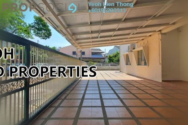 For Rent Terrace at Jalan Burma, Georgetown Freehold Semi Furnished 3R/2B 3.8k