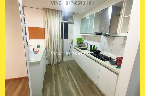 For Rent Condominium at Midfields, Sungai Besi Freehold Semi Furnished 3R/2B 1.6k