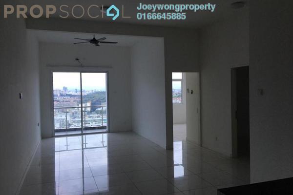 For Rent Condominium at Skypod, Bandar Puchong Jaya Freehold Semi Furnished 3R/2B 1.8k