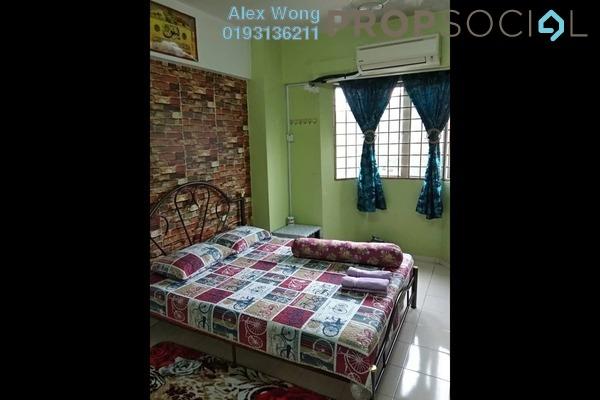 For Rent Apartment at Tasik Heights Apartment, Bandar Tasik Selatan Freehold Fully Furnished 3R/2B 1.5k