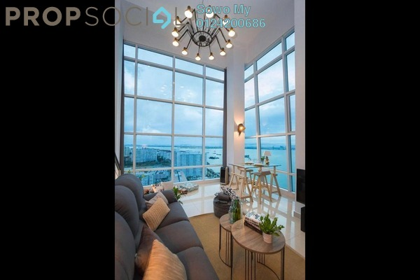 For Sale Condominium at The Maritime, Jelutong Freehold Fully Furnished 2R/2B 860k