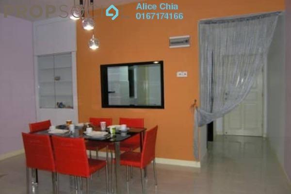 Apartment For Rent in Permas Ville, Bandar Baru Permas Jaya Freehold Fully Furnished 3R/2B 1.2k