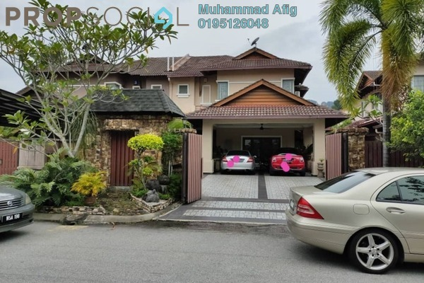 Semi-Detached For Sale in Kemensah Villa, Kemensah Freehold Fully Furnished 5R/3B 1.65m