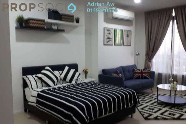 Condominium For Rent in Arcoris, Mont Kiara Freehold Fully Furnished 1R/1B 2.5k
