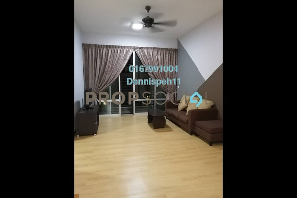 For Rent Condominium at Greenfield Regency, Skudai Freehold Semi Furnished 3R/2B 1.3k
