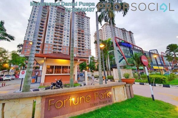 For Sale Condominium at Fortune Park, Jelutong Freehold Semi Furnished 3R/2B 400k