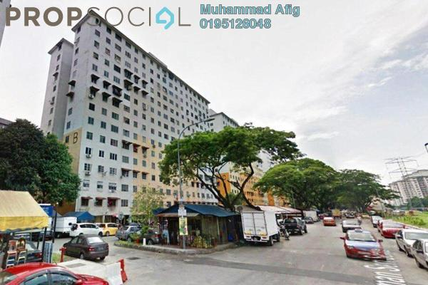 Apartment For Sale in Taman Sri Sentosa, Old Klang Road Freehold Unfurnished 3R/2B 140k