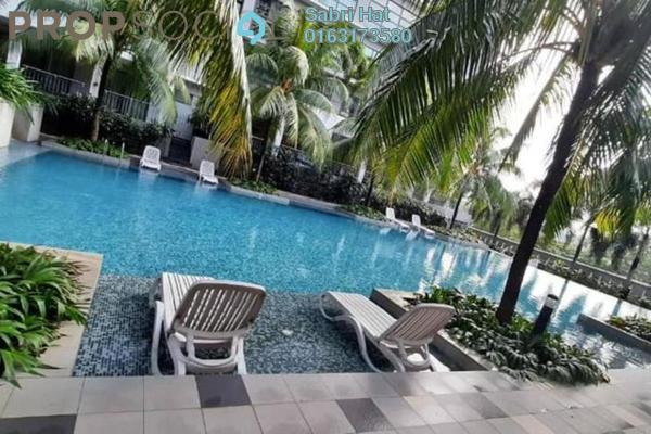 Condominium For Sale in Sri Acappella, Shah Alam Freehold Semi Furnished 2R/2B 460k
