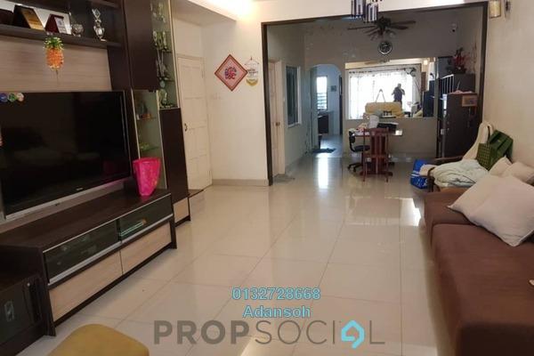For Sale Terrace at SD8, Bandar Sri Damansara Freehold Semi Furnished 4R/3B 980k