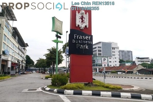 Office For Rent in Fraser Business Park, Sungai Besi Freehold Semi Furnished 0R/0B 3.5k